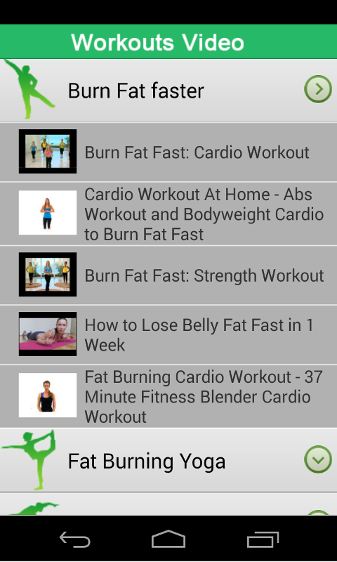 Burn Your Belly Fat Fast Screenshot