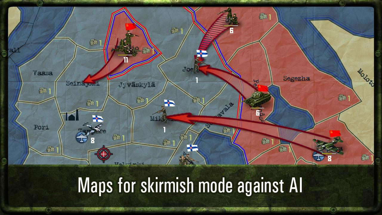 Strategy & Tactics: WW II Screenshot 14