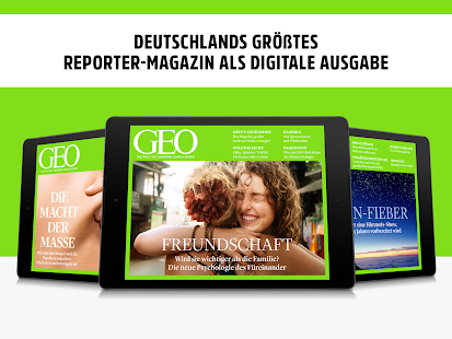 GEO Magazin Archiv bis 3/2017 Screenshot