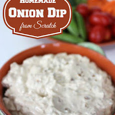 Homemade Onion Dip from Scratch