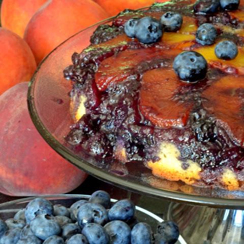 Peach Upside-down Cake Recipe | Yummly