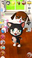 Screenshot of Talking Cat & Background Dog