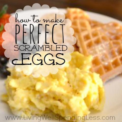 Scrambled Eggs Half And Half Recipes