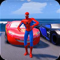 Superheroes Car Stunt Racing Games For PC