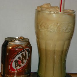 Float Me by Sandy Stevens Krassinger - Food & Drink Alcohol & Drinks ( fluffy, root-beer, drink, ice cream, soda, float, dessert,  )