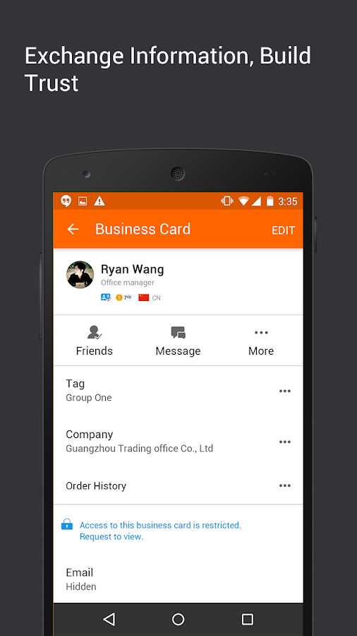 Alibaba.com B2B Trade App Screenshot 5
