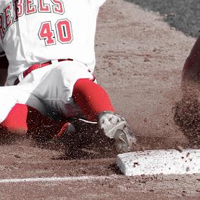 SAFE! by Chris Pugh - Sports & Fitness Baseball ( safe )