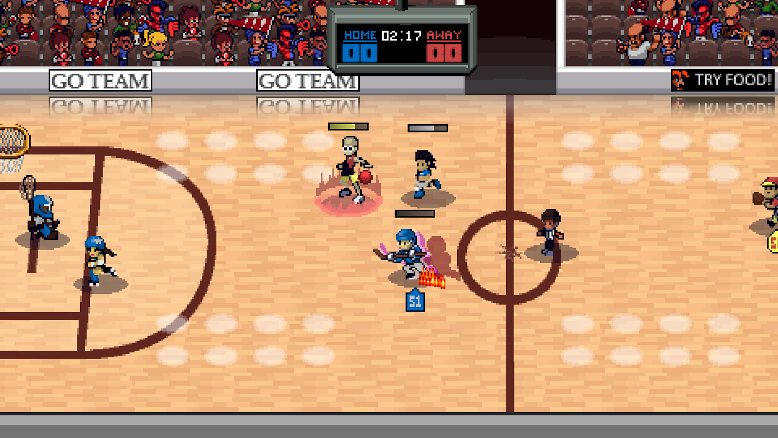 Super Slam Dunk Touchdown Screenshot 1