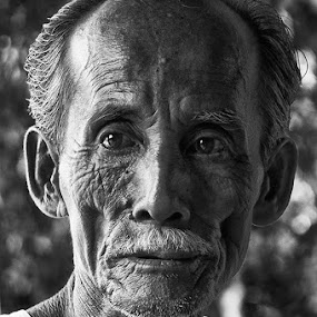 Portrait #1 by Ridwan Handoyo - People Portraits of Men ( senior citizen )