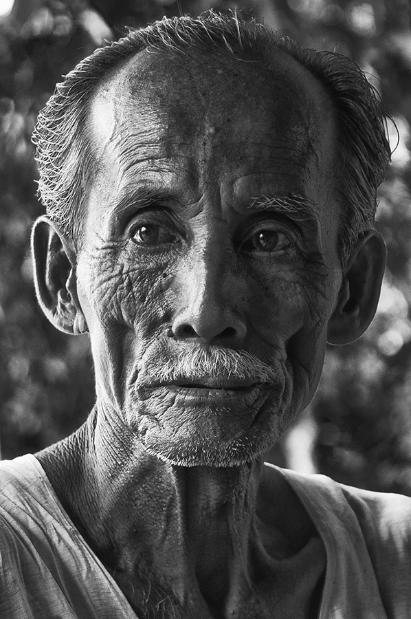 Portrait #1 by Ridwan Handoyo - People Portraits of Men ( senior citizen )