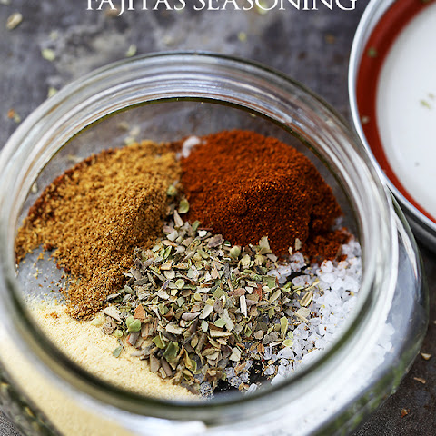 Homemade Fajitas Seasoning Mix
