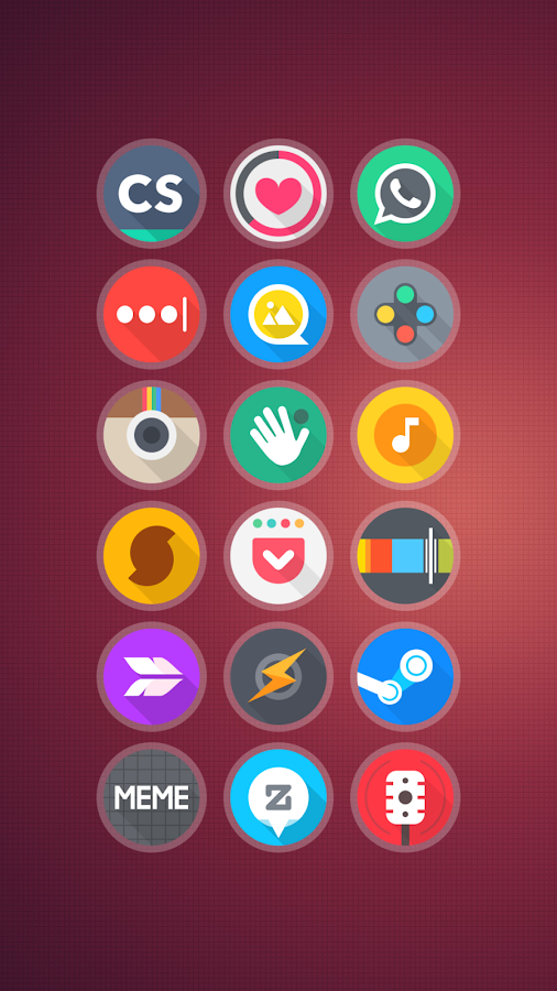 Around - Icon Pack Screenshot 2