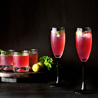 Cranberry Mint Lemonade