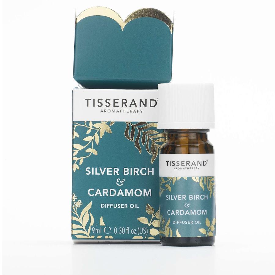 Tisserand Silver Birch and Cardamon diffuser oil