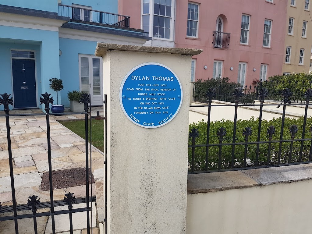 Where the poet Dylan Thomas read from his newly completed play for voices, Under Milk Wood, not long before he set off on his last trip to New York.Submitted by: Alistair Wylie