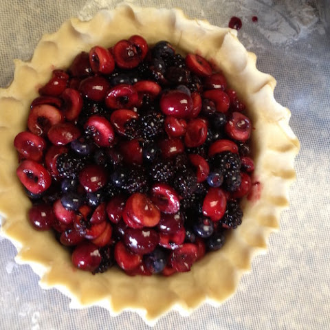 An Easy Cherry Berry Pie That Will Get You Psyched For Spring