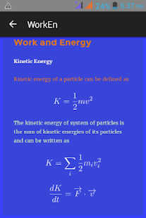JEE Physics Mechanics Revision - screenshot