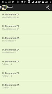 App H. Muammar ZA (Mp3) apk for kindle fire