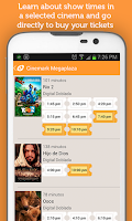 Screenshot of Cartelera Cinepapaya