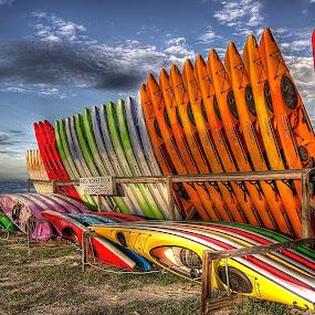 Cool Change by Edward Allen - Transportation Boats