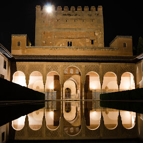 Alhambra by Mateo de la Vega - Buildings & Architecture Statues & Monuments