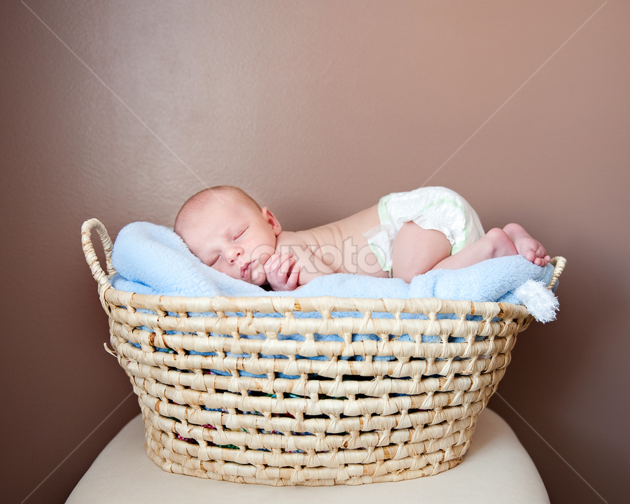 by Melissa Papaj - Babies & Children Babies ( police newborn, infant, utah newborn photographer, boy, newborn )
