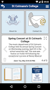 St Colman's College, Newry - screenshot