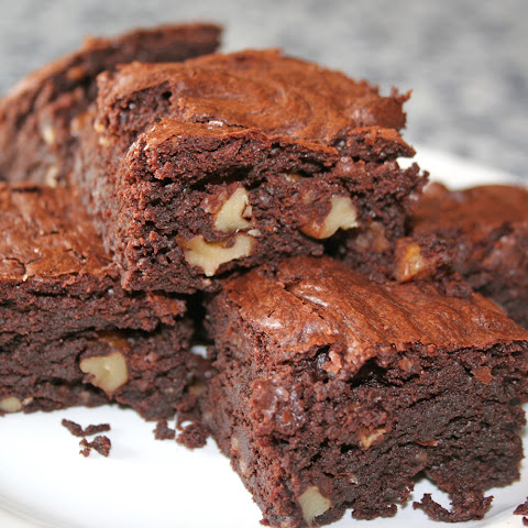 Rich Chocolate and Walnut Brownie
