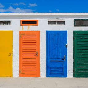 Colours by Marko Dragović - Buildings & Architecture Other Exteriors ( doors, croatia, beach, brodarica )