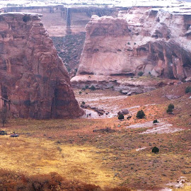 Great Canyon  De Chelly by Dave Walters - Landscapes Mountains & Hills ( mystic, red, lumix fz200, colors, landscape, senic, canyon de chelly )