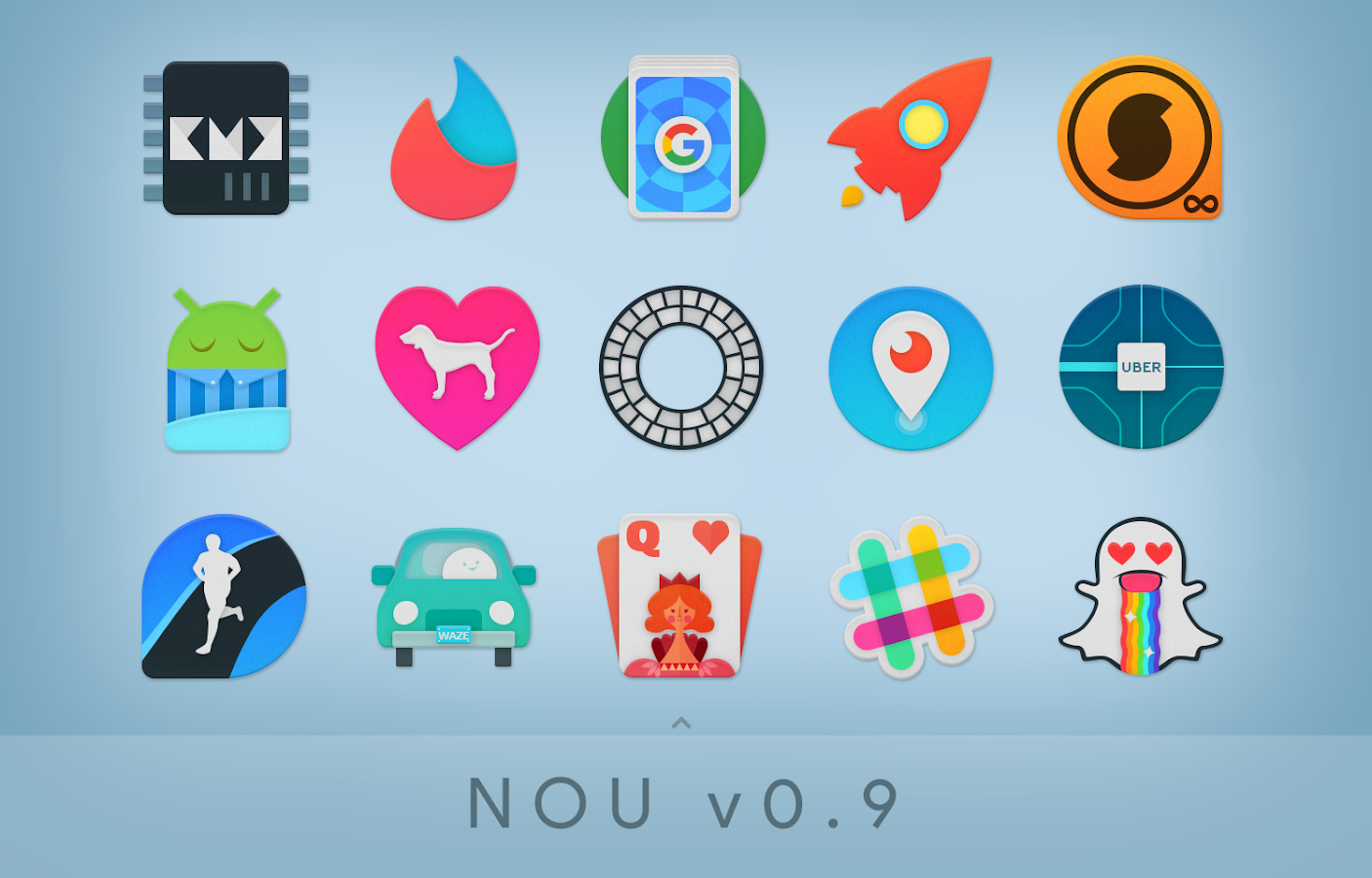 NOU - Icon Pack Screenshot 1