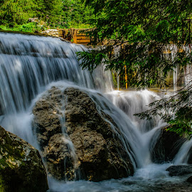 by Nicu Ivan - Landscapes Waterscapes ( waterfall, mountain river, montain, river )