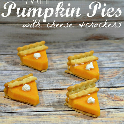 Mini Pumpkin Pies – Made with Cheese & Crackers