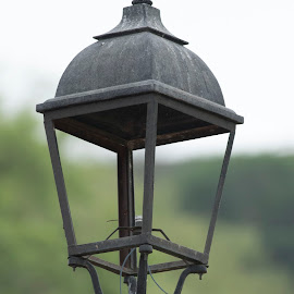 missing light by Khemchand Joshi - Artistic Objects Other Objects ( park, parks, lamp, lamp post, light )