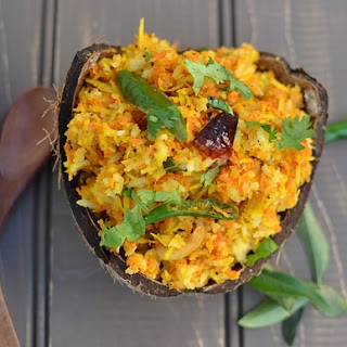 Carrot-Coconut Rice