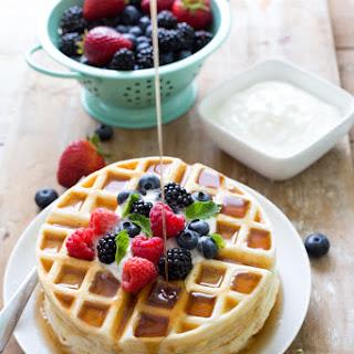 Greek Yogurt Waffles Recipes