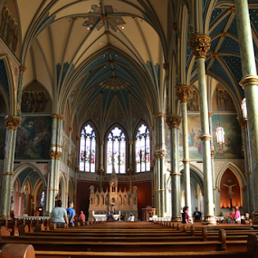 by Barbara Suggs - Buildings & Architecture Places of Worship