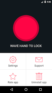 App Wave to Unlock and Lock APK for Kindle