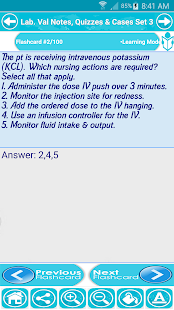Lab Values & Fluids For NCLEX screenshot for Android