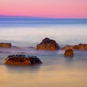 Coastal Rocks by Ed & Cindy Esposito - Landscapes Sunsets & Sunrises ( water, ocean, rocks, coastal, coast )
