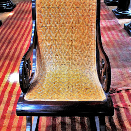 Had supported a lot of noble souls.. by Anoop Namboothiri - Artistic Objects Furniture ( chair, ols, artistic, anoop namboothiri, restored, antique,  )