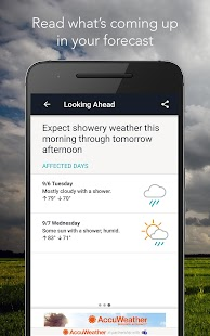AccuWeather with Superior Accuracy™ Screenshot