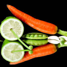 carrots by SANGEETA MENA  - Food & Drink Fruits & Vegetables