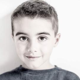 My boy by Inna Fangel - People Portraits of Men ( angel, son, boy, portrait, eyes )