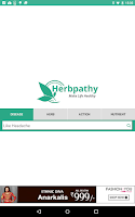 Screenshot of Herbpathy