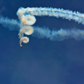 Bucharest International Air Show 2015 by Alah Ja Ja Bin - Transportation Airplanes ( clouds, europe, hdr, speed, exterior, airplane, colors, transportation, landscape, attraction, photography, adventure, sky, nature, action, smoker, airshow )