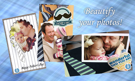 Fathers Day Photo Frame - screenshot