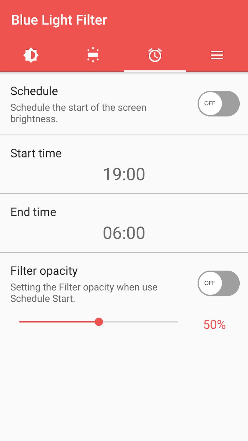 sFilter - Blue Light Filter Screenshot 5