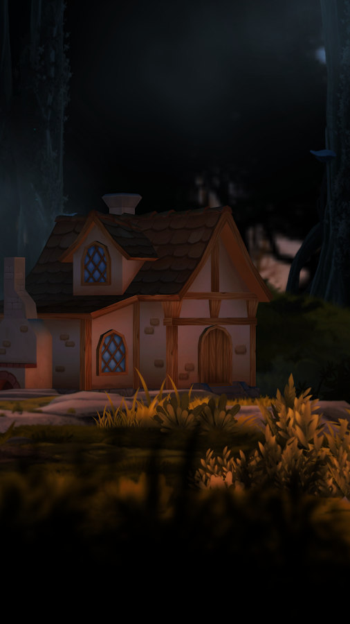 3D Forest House Full LWP Screenshot 1