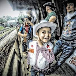 #ig_europe #simplyhdr#igworldclub #igglobalclub #iggloballife #ig_respect #sweden #highchaparral #cowboy ##igmasters #ig_great_pics by Walle Grevik - Babies & Children Child Portraits